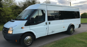 Chariots for hire chauffeur driven minibuses for hire Sawbridgeworth