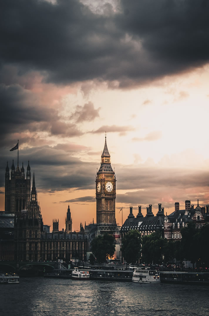 Photo by Luke Stackpoole, Big Ben
